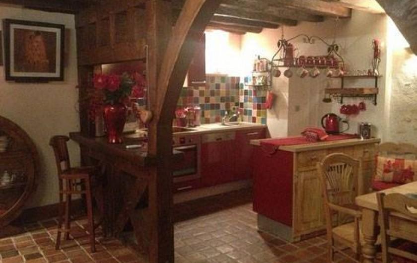 Location de vacances - Gîte à Auxerre - SALON SALLE A MANGER