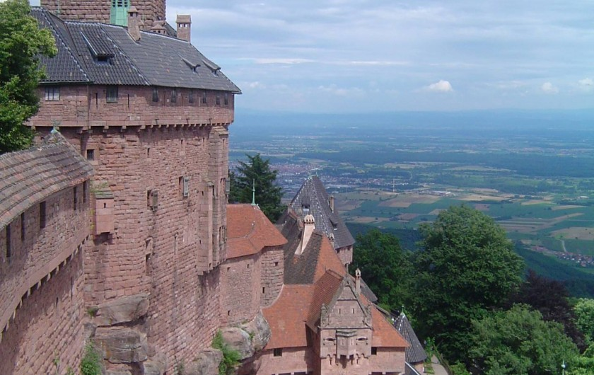 Location de vacances - Chambre d'hôtes à Saint-Pierre-Bois - Château du haut Koenigsbourg