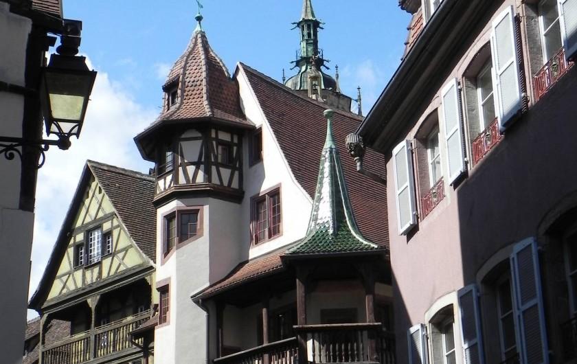 Location de vacances - Chambre d'hôtes à Saint-Pierre-Bois - Colmar