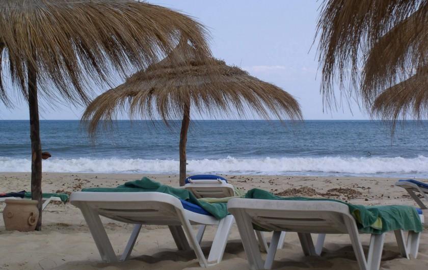 Location de vacances - Appartement à Hammamet - plage