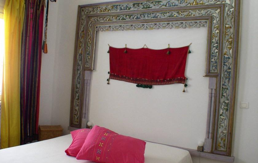 Location de vacances - Appartement à Hammamet - chambre à coucher - lit double