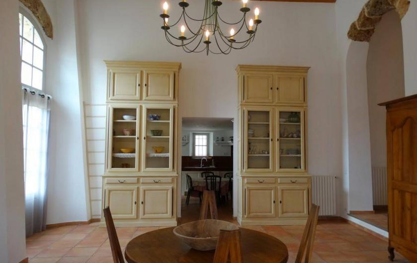 Location de vacances - Gîte à Montferrat - Salle-à-manger