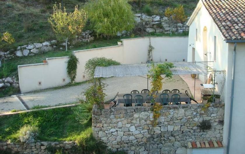 Location de vacances - Gîte à Montferrat - Terrasse