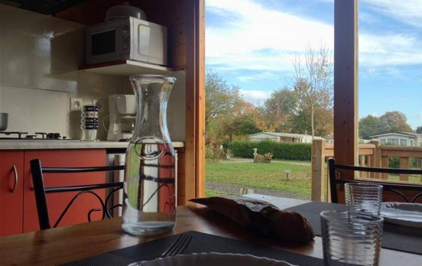 Location de vacances - Camping à Rochefort-en-Terre - Chalet