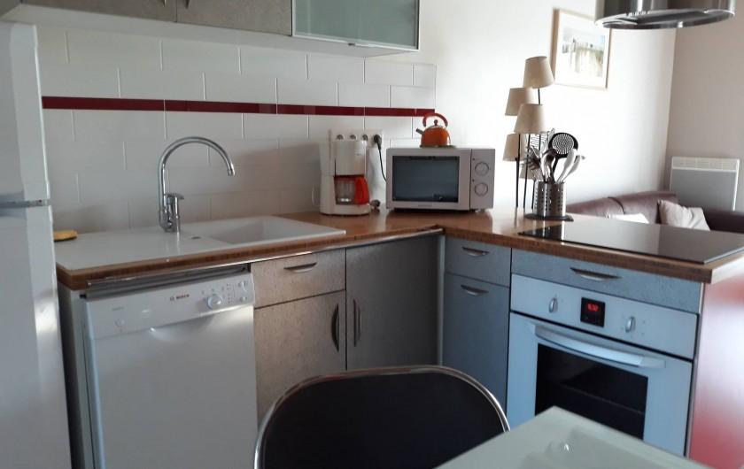 Location de vacances - Gîte à Port-Saint-Père - kitchenette