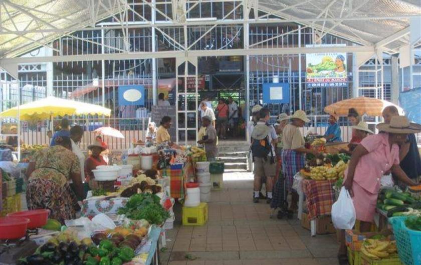 Location de vacances - Bungalow - Mobilhome à Le Carbet - Marché