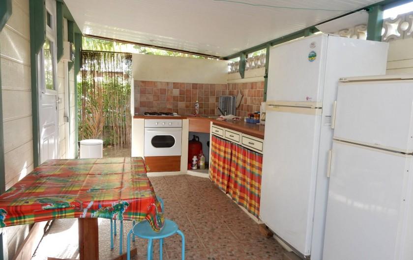 Location de vacances - Bungalow - Mobilhome à Le Carbet - Cuisine