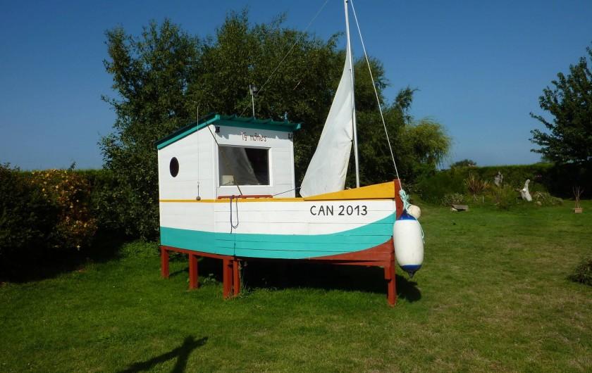 Location de vacances - Gîte à Cancale - La cabane bateau attend les petits pirates