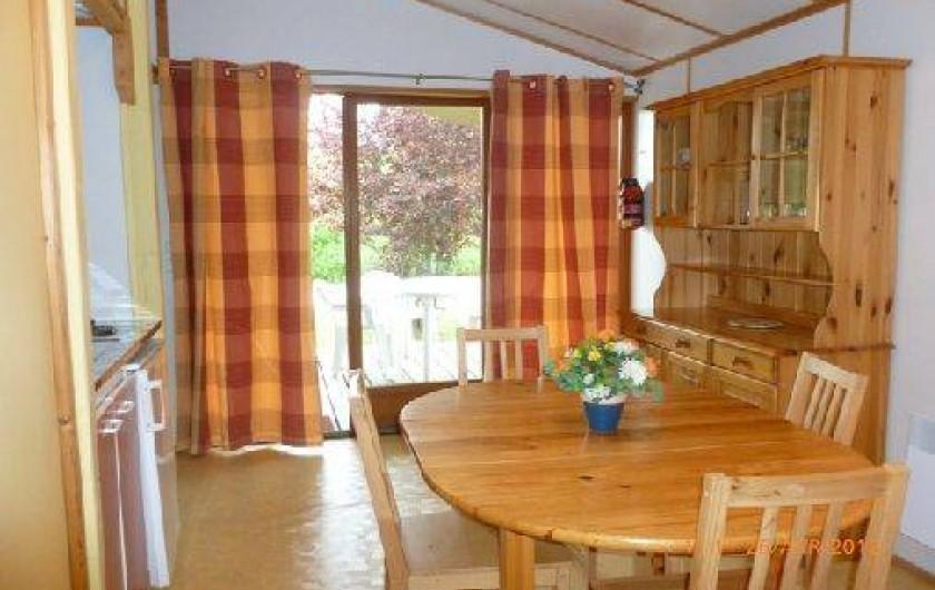 Location de vacances - Chalet à Montricoux - Séjour