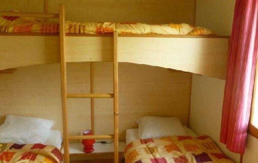 Location de vacances - Chalet à Montricoux - chambre