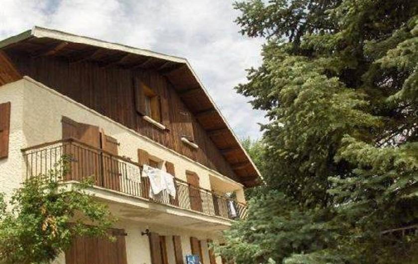Location de vacances - Appartement à Chorges - Vue depuis la maison