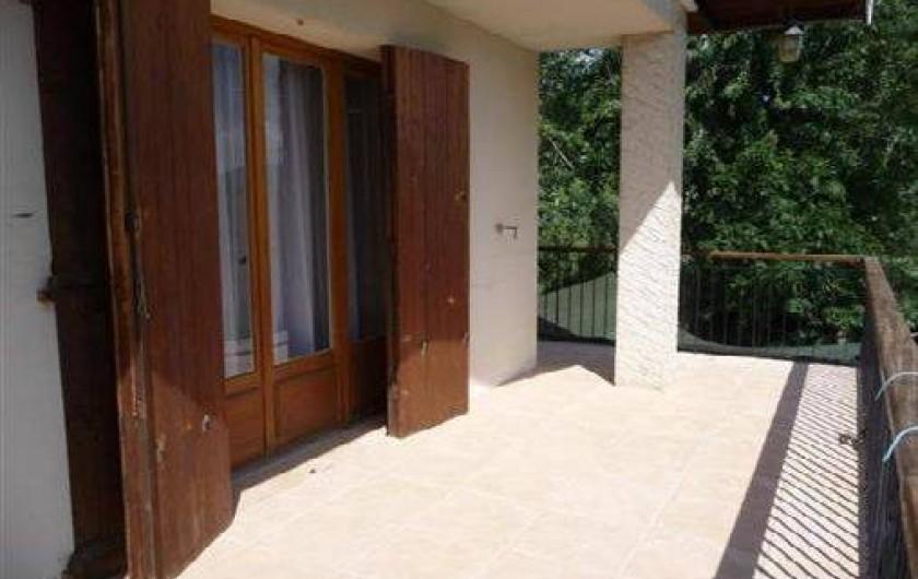 Location de vacances - Appartement à Chorges - Terrasse