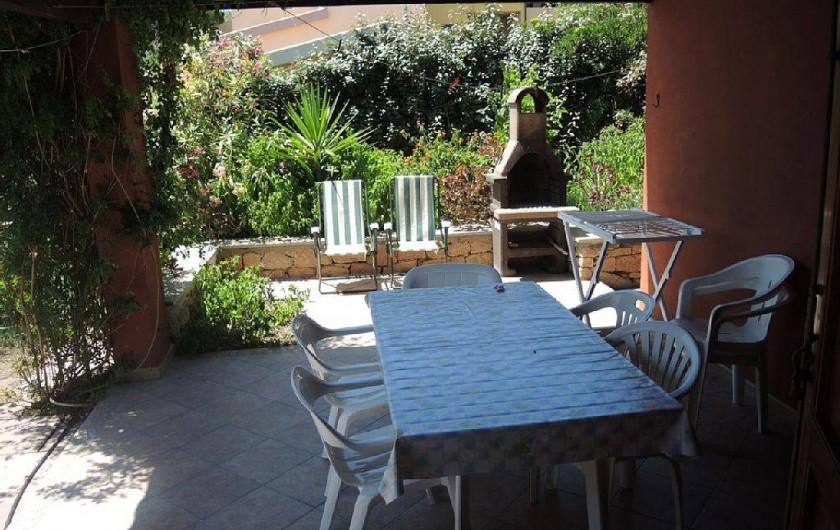 Location de vacances - Maison - Villa à Badesi - Terrasse