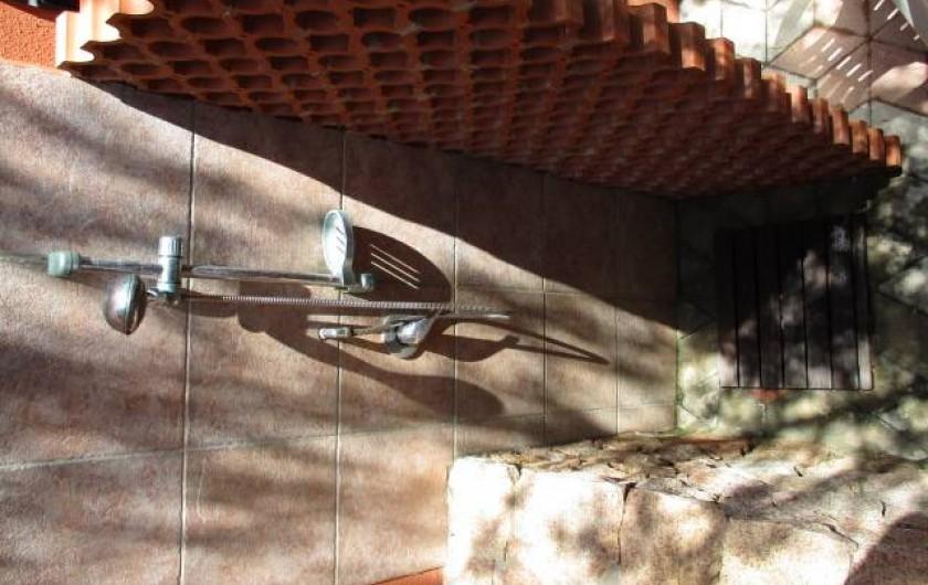 Location de vacances - Maison - Villa à Badesi - Douche extérieur