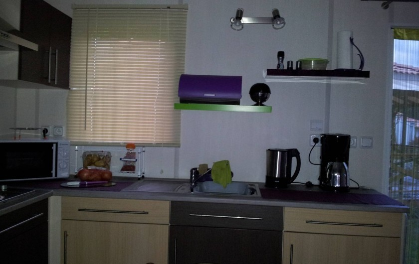Location de vacances - Chalet à Lit-et-Mixe - cuisine