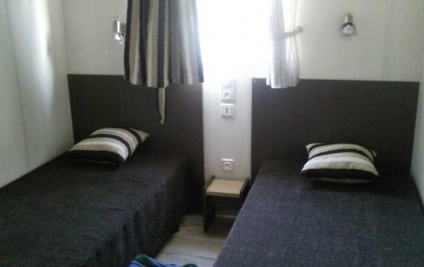 Location de vacances - Chalet à Lit-et-Mixe - chambre 2