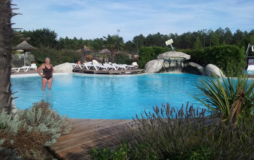 Location de vacances - Chalet à Lit-et-Mixe - piscine extérieur