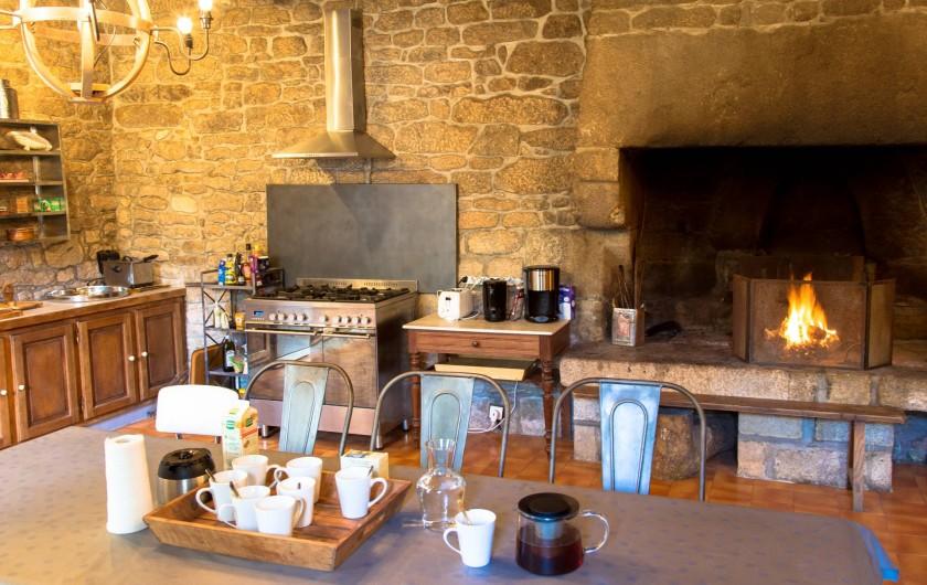 Location de vacances - Château - Manoir à Loctudy - Cuisine équipée