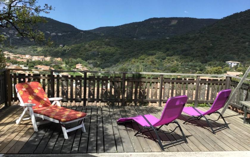 Location de vacances - Maison - Villa à Bormes-les-Mimosas - Terrasse