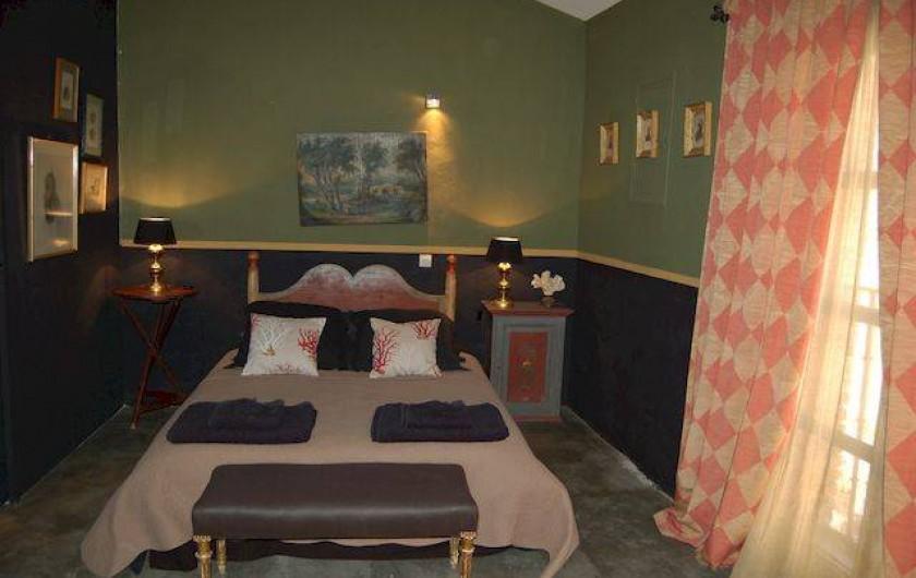Location de vacances - Chambre d'hôtes à Salses-le-Château - Chambre Coquillage