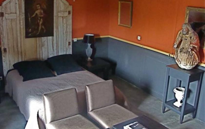 Location de vacances - Chambre d'hôtes à Salses-le-Château - Chambre Corail