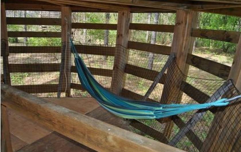 Location de vacances - Cabane dans les arbres à Captieux