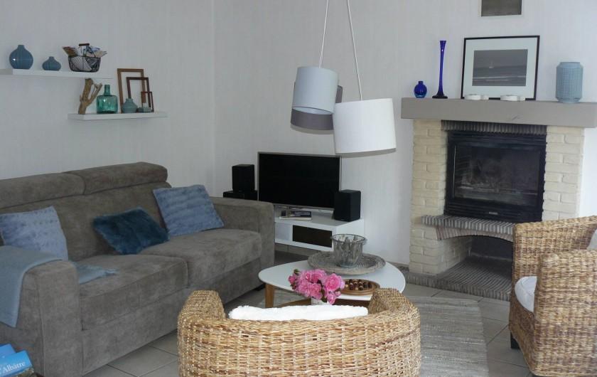 Location de vacances - Maison - Villa à Neuville-lès-Dieppe - Le salon