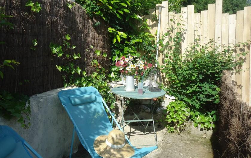 Location de vacances - Maison - Villa à Neuville-lès-Dieppe - La terrasse solarium 2