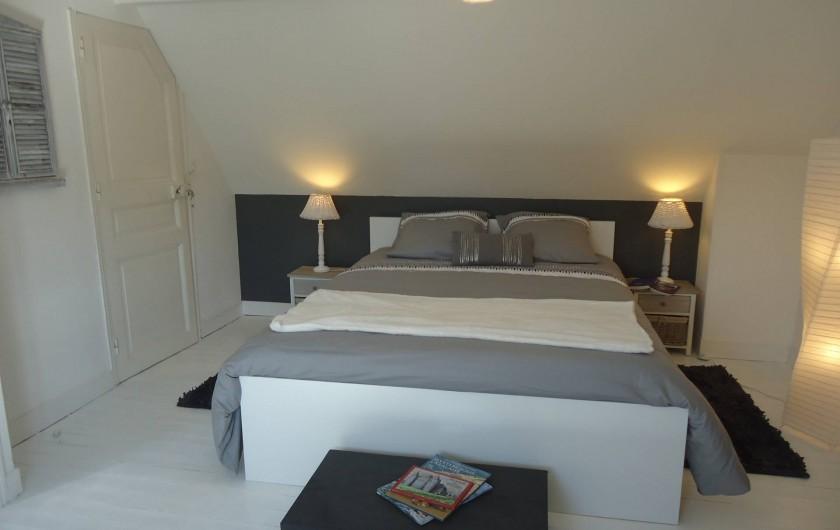 """Location de vacances - Maison - Villa à Neuville-lès-Dieppe - La chambre """"Galet"""""""