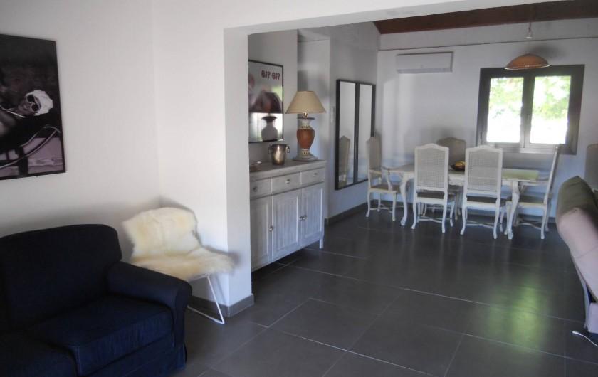 Location de vacances - Villa à Folelli - living