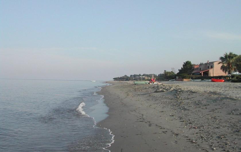 Location de vacances - Villa à Folelli - la plage