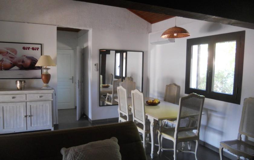 Location de vacances - Villa à Folelli - coin repas