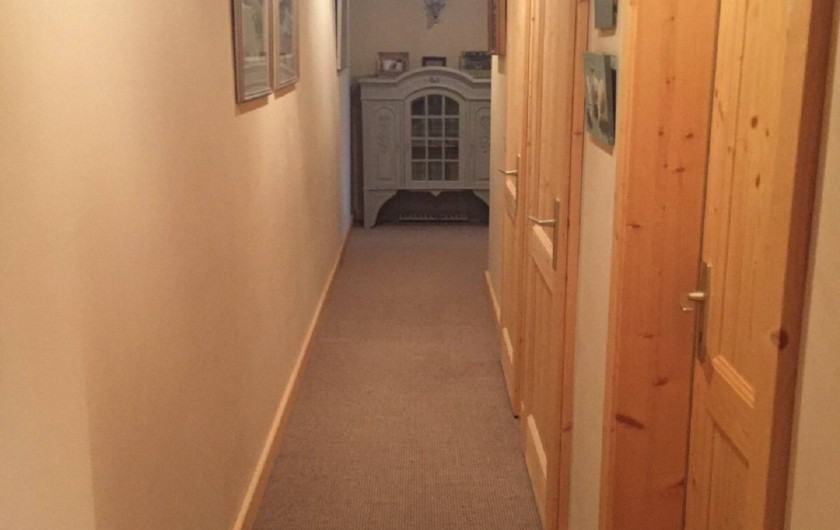 Location de vacances - Appartement à Ormont-Dessus - Couloir de nuit
