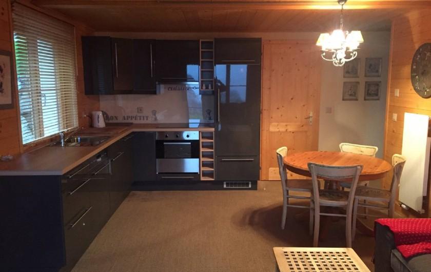 Location de vacances - Appartement à Ormont-Dessus - Cuisine