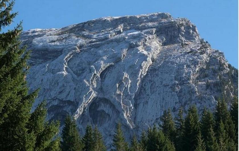 Location de vacances - Tipi à Mont-Saxonnex - La proximité de la montagne pour toutes vos activités, VTT, ski, randonnée...