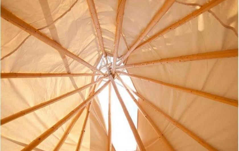 Location de vacances - Tipi à Mont-Saxonnex - Des constructions traditionnelles