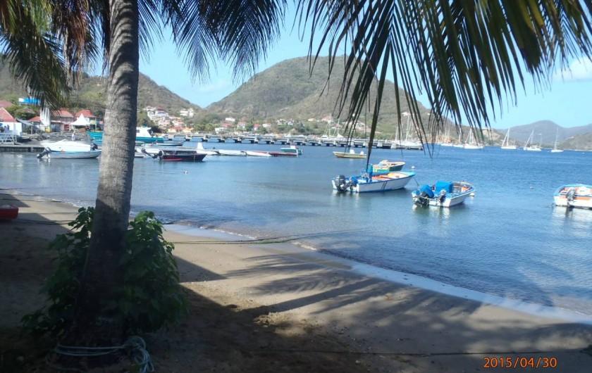 Location de vacances - Gîte à Terre-de-Haut - Votre plage presque privée