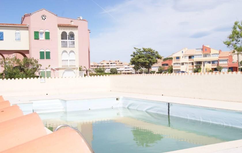 Location de vacances - Appartement à Le Barcarès - la piscine