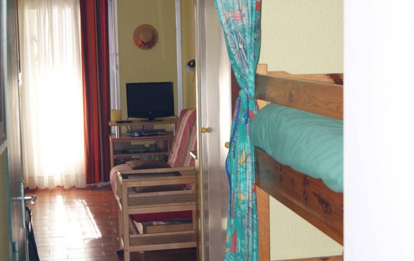 Location de vacances - Appartement à Le Barcarès - coin cabine
