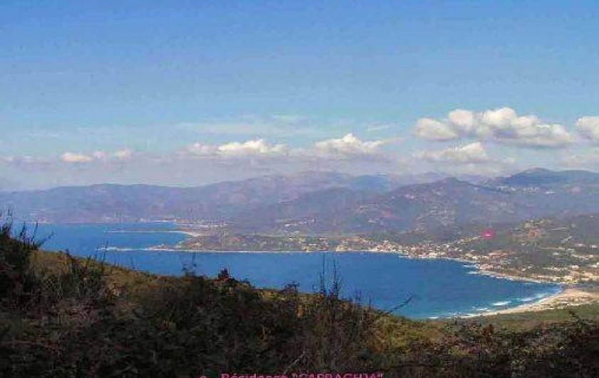 Location de vacances - Appartement à Tiuccia - Vue panoramique sur TIUCCIA