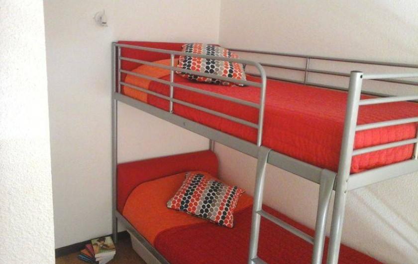 Location de vacances - Maison - Villa à Ajaccio - Mezzanine avec lits superposés