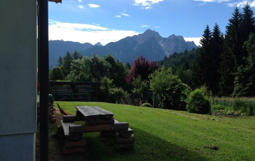 Location de vacances - Appartement à Pozzale - le jardin