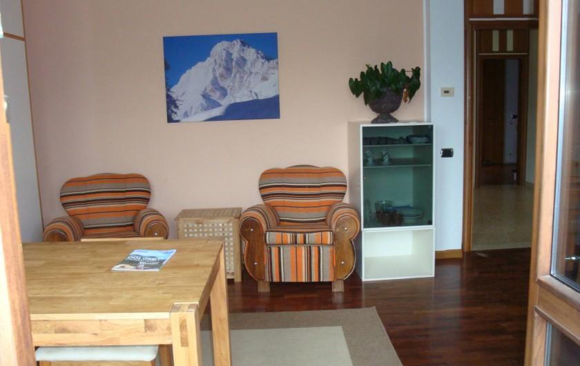 Location de vacances - Appartement à Pozzale - salle