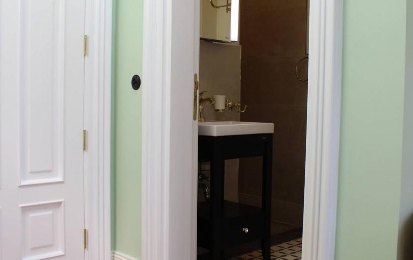 Location de vacances - Appartement à Bad Ems - Salle de bain dans l'appartement 'Le Service'