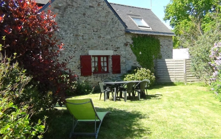 Location de vacances - Maison - Villa à Saint-Nolff - Jardin privatif et clos