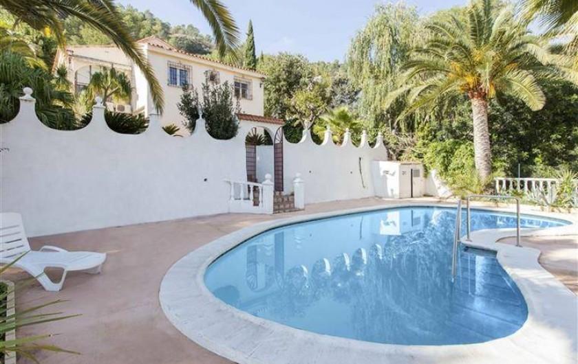 Location de vacances - Villa à Gandia - zone piscine