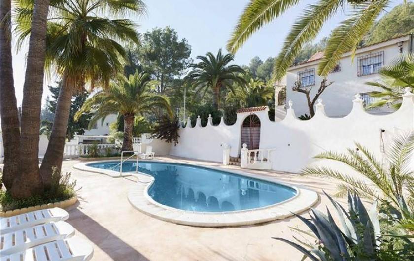 Location de vacances - Villa à Gandia - piscine villa