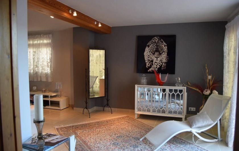 Location de vacances - Villa à Gandia - salon 2iem niveau