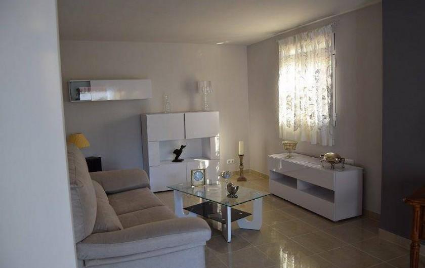 Location de vacances - Villa à Gandia - 2iem salon au rez d chausse