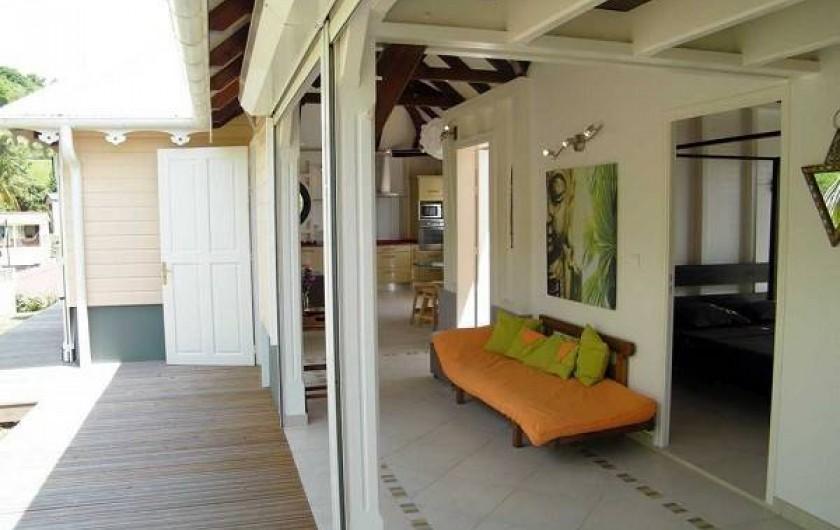 Location de vacances - Villa à Le Robert - L'entrée de la villa